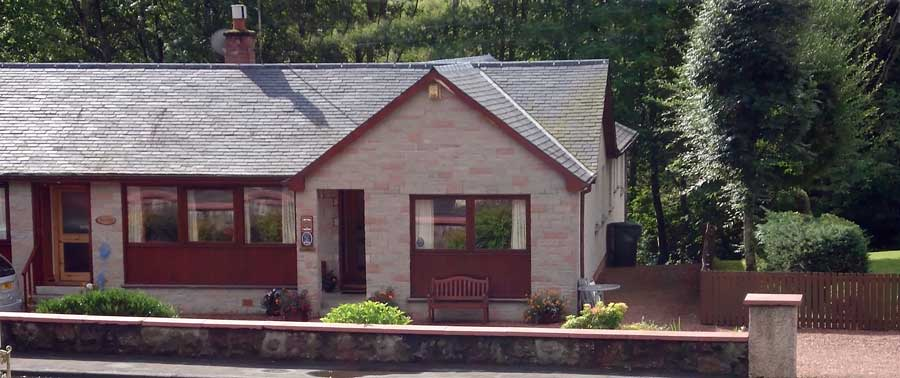 Almardon self catering accommodation in Callander